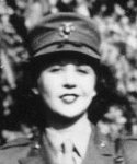 Auntie Lynn in Marine Corps, 1940s